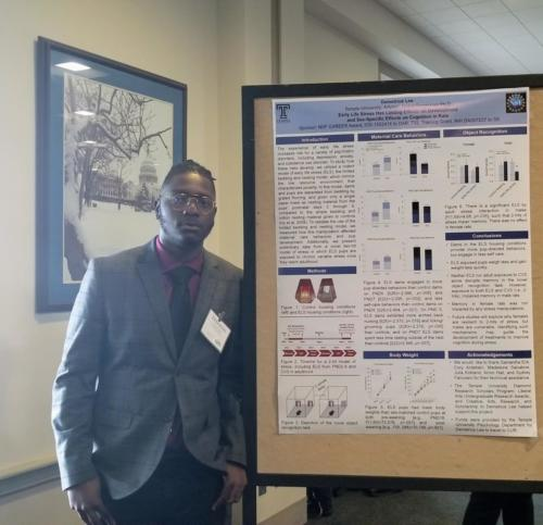 Demetrius Lee, Temple UniversityCUR Posters on the Hill Session 2019
